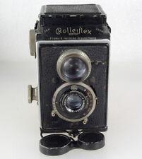 Rolleiflex Original Historic TLR Camera, F/4.5 Tessar Lens, Working, Film Tested