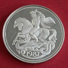 Edoardo VIII 1937 - 1987 50th ANNIVERSARIO HM ARGENTO PROOF MEDAGLIA