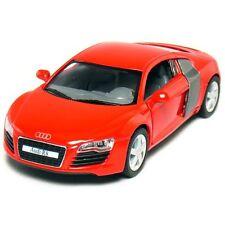 "New Kinsmart 5"" Audi R8 Diecast Model Toy Car 1:36 - Red"