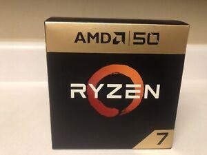 AMD Ryzen 7 2700X 50th Anniversary Ed. 3.70GHz, 8 Core,16 Thread CPU, Rare, New