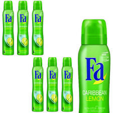 FA CARIBBEAN LEMON Exotic Fresh Deodorant Body Spray 200ml
