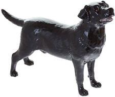 John Beswick black Labrador dog figure ceramic ornament JBD99