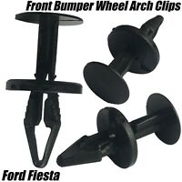 10x Clips For Ford Fiesta Focus Front Bumper Wheel Arch Lining Splash Guard