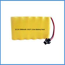 6S1P Battery Pack 22.2V (24V) 2900mAh 2.9Ah 18650 18-25.2V Li-ion Rechargeable