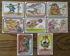 (8) 1988 Awesome All-Stars Cards (Puzzle Back)