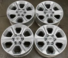 "4 New Takeoff Toyota 4Runner Tacoma 17"" Factory OEM Silver Wheels Rims 75153"