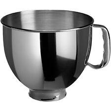 Kitchenaid 4,8 Liter Edelstahlschüssel Schüssel Rührschüssel Rühren poliert neu
