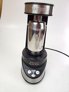 Waring Pro Professional Electric Martini Maker, Black & Chrome model WM007