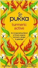 Pukka Thé Curcuma Active - 20 Intercalaires