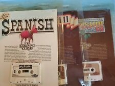 Spanish On Cassette By The Learning Curve 1, 2, 3