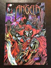 Angela #1 promo comic 1995 Image Spawn Early/Scarce Vf