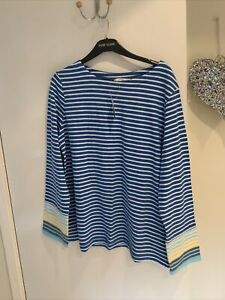 Size 20 Striped Top New With Tags Long Sleeves Casual