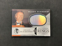 2019-20 UPPER DECK BLACK DIAMOND TONY ESPOSITO 1988 HALL OF FAME RINGS #HR-TE