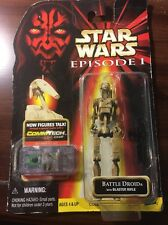 1998 Star Wars Episode One Battle Droid Sealed NIP Blaster Rifle Comm Tech Chip