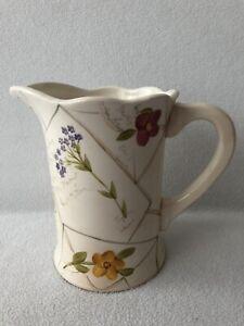 Vintage Bath & Body Works Pitcher Floral Design Spring 1999