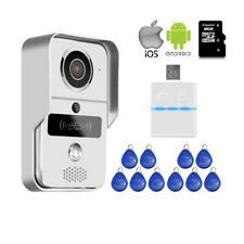 RFID Wireless Wifi Video Door Phone Doorbell Intercom System Remote View Unlock