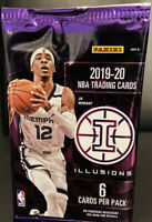 🔥🔥 2019-20 Panini ILLUSIONS Basketball Sealed Mega Box Pack 🔥 HOT 🔥.