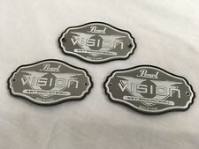 Pearl Vision VX Badges/Set of 3/Brand New