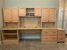 Excellent quality and condition - wood desk set