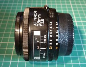 Nikon AF Nikkor 28mm F/2.8 Lens