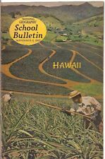 national geographic-SCHOOL BULLETIN-nov 11,1963-HAWAII.