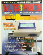 Nuts and Volts August 2016 Build the Router Restarter Circuits FREE SHIPPING sb