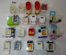 New listing 20 Lego Bulk lot Container 4345 Modular Friend Girl Furniture Mailbox Stove Oven