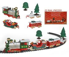 Musical Train de Noël & VOITURES Novelty Christmas Tree Train Set lumières