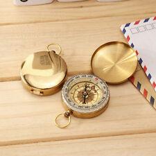 Tasche Messing Kompass Uhr Style Außen Camping Wandern Navigation Schlüsselring