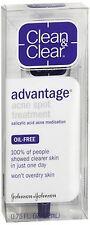 CLEAN - CLEAR ADVANTAGE Acne Spot Treatment Oil-Free 0.75 oz (Pack of 2)