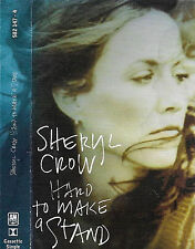 Sheryl Crow Hard To Make A Stand CASSETTE SINGLE Rock Pop inc live & alt version