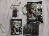 Walking Dead Season 4 Dog Tags Prison Crowd Walker Costume Dog Tag C14 of 17