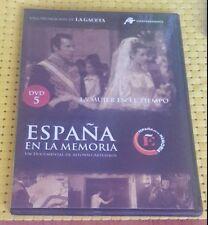 ESPAÑA EN LA MEMORIA DVD-5 LA MUJER EN EL TIEMPO
