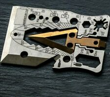 Survival multi tool card