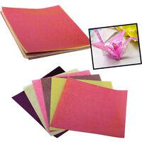Glitter Papier funkelnden glänzenden Vogel Boot Tier Sterne bunte Origami AB