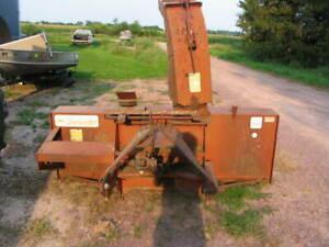 McKee Snolander  7'  Snow Blower Tractor 3 Pt.  Hydraulic Spout