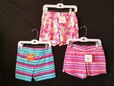 Gymboree Girls Shorts Cotton Knit Pull on Elastic Waist Sz Small 5/6 lot of 3