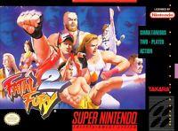 Fatal Fury 2 Super Nintendo SNES Game Used