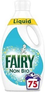 Fairy Flüssigwaschmittel für empfindliche Haut 75 Waschladungen Waschmittel NEU