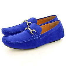 Hombre Símil ante Informal Mocasines Zapatos sin Cierres Disponible GB Tallas