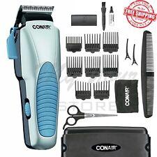 Conair Hair Trimmer Clipper Cut Haircut Barber 18 Piece Set Electric Razor Cord