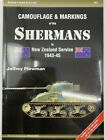 WW2 New Zealand Shermans Tank Camouflage Markings Reference Book