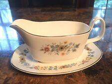 pastorale H5002 Royal Doulton gravy bowl & plate English Fine Bone China