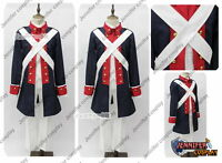 Axis Powers APH Revolutionary War Cosplay Costume Uniform