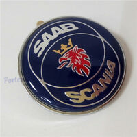 SAAB SCANIA CLASSIC 9-3 9000 900 FRONT HOOD BONNET BADGE 50MM NEW PART 4522884