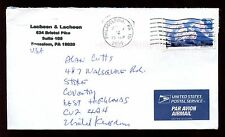 USA 2005 Commercial Air Mail Cover To UK #C10640