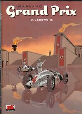 Grand Prix Nr. 3 Hardcover Comic von Marvano in Topzustand !!!