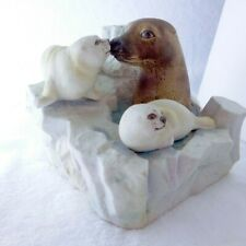 Seal & Pups Cyrus Noble 1978 Original Whiskey Decanter by Hass Brothers