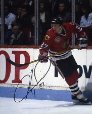 Jeremy Roenick Chicago Blackhawks signed 8x10 photo (D)