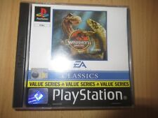 Warpath Jurassic Park World  PS1 PAL VERSION MINT COLLECTORS
